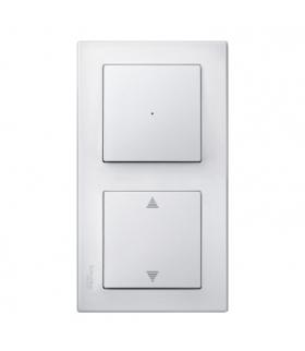 Merten Ramka M-Smart podwójna biały polarny