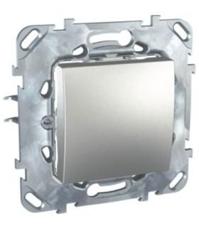 Unica Top Przycisk 1-biegunowy aluminium Schneider MGU50.206.30Z