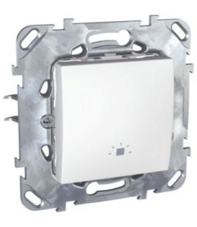 """Unica Przycisk """"światło"""" biel polarna Schneider MGU50.206.18LZ"""