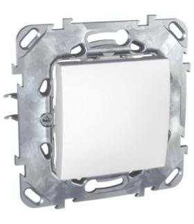 Unica Przycisk 1-biegunowy biel polarna Schneider MGU50.206.18Z