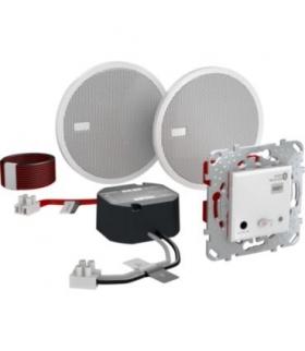 Unica, zestaw podtynkowy Bluetooth Audio, biały Schneider MGU70.566.18
