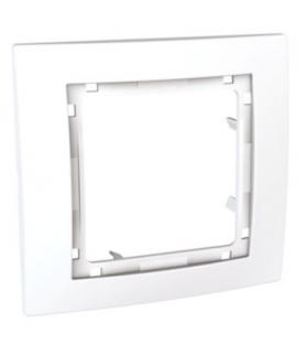 Unica Colors Ramka 1-krotna biały Schneider MGU4.002.18