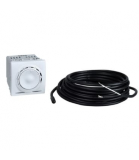Unica Regulator temperatury z czujnikiem podłogowym bez ramki montaż. biel p. Schneider MGU3.503.18