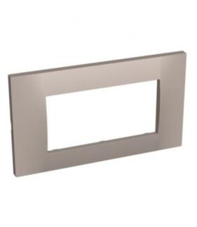 Altira ramka montażowa 2 mechanizmy 1 zespół pozioma granit Schneider ALB45724