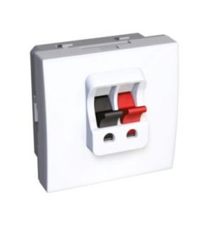 Schneider Electric Altira - gniazdo głośnikowe - 1 gniazdo - biel polarna ALB44387