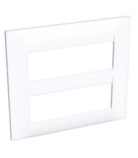 Altira ramka ozdobna 2x dla 3 mod. dwukrotna pozioma biel polarna Schneider ALB44658