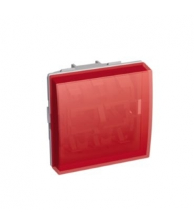 Altira flat indicator lamp with 45 mm diffuser without lamp red Schneider ALB45545