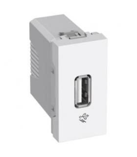 Altira USB charger 2.0 1A 127/220V 1 module white Schneider ALB44374