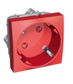 Altira 1 SO 2P+E z przesłonami i bocz. uz. czerwony Schneider ALB45283