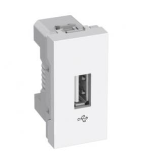 Altira USB data connector 1 module white Schneider ALB44375