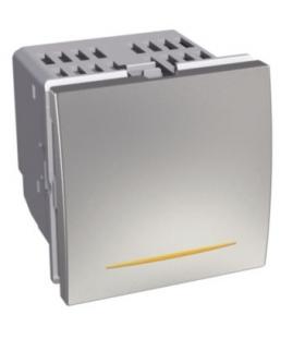 Altira przycisk ściemniacz uniwersalny 0 350W/VA aluminium Schneider ALB46190