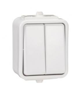 Cedar Łącznik świecznikowy IP44 biały Schneider WNT500C01