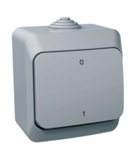 Cedar Plus Łącznik 2-biegunowy IP44 szary Schneider WDE000620