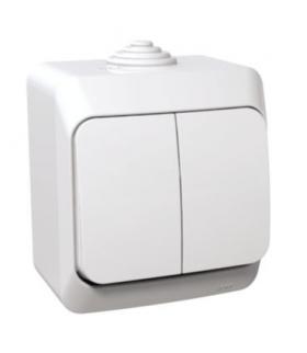 Cedar Plus Łącznik świecznikowy IP44 biały Schneider WDE000550
