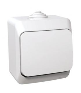 Cedar Plus Łącznik 1-biegunowy IP44 biały Schneider WDE000510