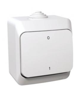 Cedar Plus Łącznik 2-biegunowy IP44 biały Schneider WDE000520