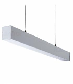 Oprawa liniowa pod tuby LED T8 ALIN 4LED 1530mm G13 srebrny Kanlux 27424