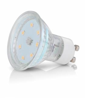 Żarówka LED GU10 3W barwa CIEPŁOBIAŁA KOBI LIGHT KAGU3,0CB