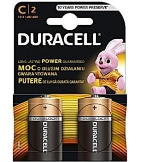BATERIA DURACELL LR14/B2 DURACELL DBLR14BL2