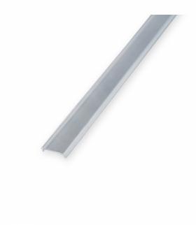 Przesłona P11-P31 mikro TRANSPARENTNA 1m ALU LED K1PVCTRA1M