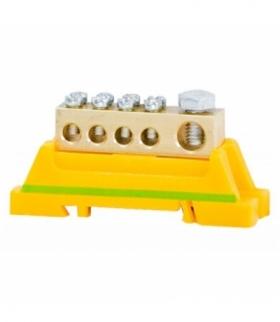 Zacisk ochronny ZO 1x25mm2 / 4x10mm2 żółto-zielony F-ELEKTRO LZ 1X25, 4X1