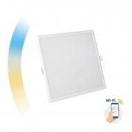 Inteligentna oprawa sufitowa podtynkowa kwadratowa 6W LED Spectrum SMART Algine Wi-Fi CCT DIMM