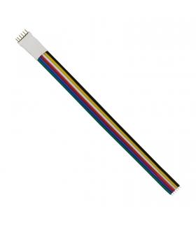 Konektor do paska LED RGBW + CCT + DIMM 6-PIN 12mm pasek-kontroler SPECTRUM Smart