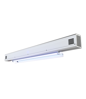 PURELIGHT LUG HYBRID Dwufunkcyjna lampa UV-C z licznikiem czasu 2x30W/T8 G13+30W/T8 G13 biały