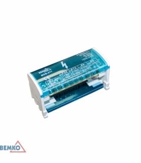 BLOK ROZDZIELCZY 22 ZACISKI 2x11 (7x5,3mm + 2x7,5mm + 2x9mm) BEMKO A18-MDB-211