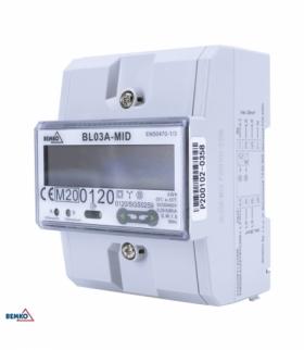 LICZNIK ENERGII 3 FAZOWY MID BEMKO A31-BL03A-MID