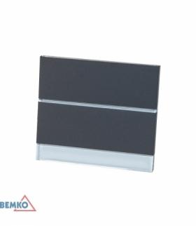 Oprawa schodowa LED STEPPER szara barwa zimna BEMKO