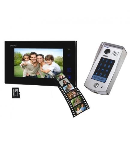 """Zestaw wideodomofonowy, kolorowy 7"""", 2-żyłowy, REMUS MEMO OR-VID-DT-1037"""