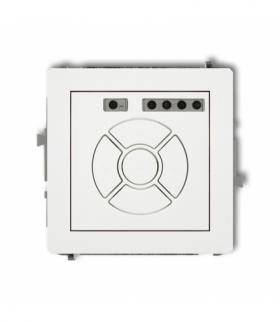 DECO Mechanizm elektronicznego sterownika roletowego (sterowanie lokalne i pilotem sterowanie strefą dodatkowy przycisk) Biały K