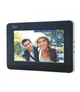 """Wideo monitor 2-żyłowy, bezsłuchawkowy, kolorowy, LCD 7"""" AT-1036PMV"""