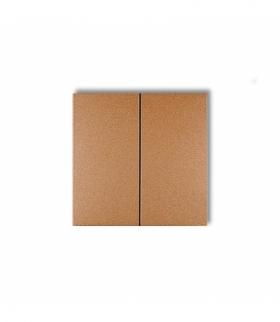 prod. uzupełniające Klawisze podwójne do łączników DECO FLEXI (komplet dwóch sztuk) Złoty metalik Karlik 8DKL-2