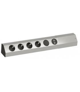 BACHMANN BM-923.012 Gniazdo rogowe z wyłącznikiem i ładowarką USB