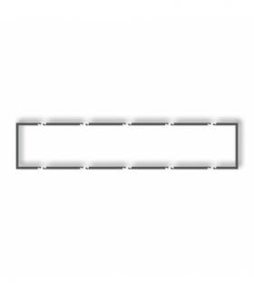 prod. uzupełniające Ramka wypełniająca pięciokrotna serii DECO Grafitowy mat Karlik 28DRW-5
