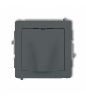 DECO Mechanizm wypustu kablowego Grafitowy mat Karlik 28DWPK
