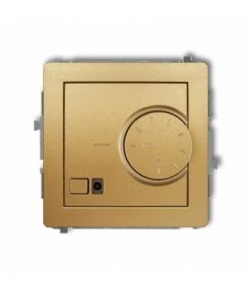 DECO Mechanizm elektronicznego regulatora temperatury z czujnikiem podpodłogowym Złoty Karlik 29DRT-1