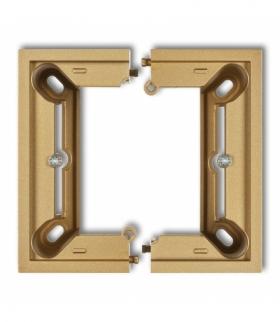 DECO i MINI Puszka natynkowa pojedyncza składana Złoty Karlik 29DPU-1