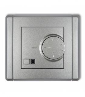 FLEXI Elektroniczny regulator temperatury z czujnikiem podpodłogowym Srebrny metalik Karlik 7FRT-1