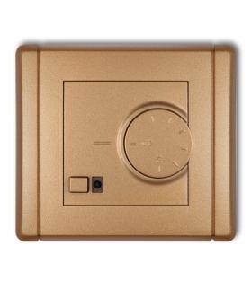 FLEXI Elektroniczny regulator temperatury z czujnikiem podpodłogowym Złoty metalik Karlik 8FRT-1