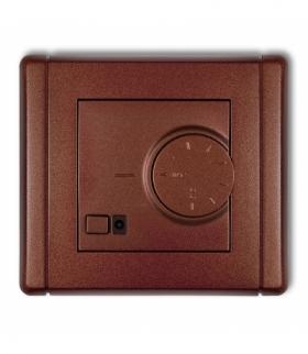 FLEXI Elektroniczny regulator temperatury z czujnikiem powietrznym Brązowy metalik Karlik 9FRT-2