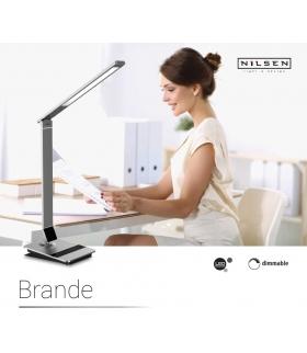 Lampa biurkowa ściemnialna 10W LED Brande DN002