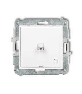 MINI Mechanizm łącznika zwierny dzwonek w stylu amerykańskim Biały Karlik MWPUS-4
