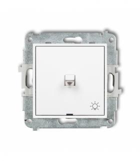MINI Mechanizm łącznika zwierny światło w stylu amerykańskim Biały Karlik MWPUS-5