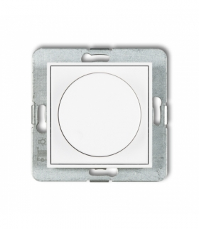 MINI Mechanizm elektronicznego regulatora oświetlenia przyciskowo-obrotowego Biały Karlik MRO-1