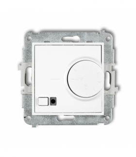 MINI Mechanizm elektronicznego regulatora temperatury z czujnikiem podpodłogowym Biały Karlik MRT-1