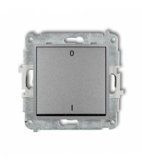 MINI Mechanizm łącznika dwubiegunowego Srebrny metalik Karlik 7MWP-9