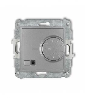 MINI Mechanizm elektronicznego regulatora temperatury z czujnikiem podpodłogowym Srebrny metalik Karlik 7MRT-1